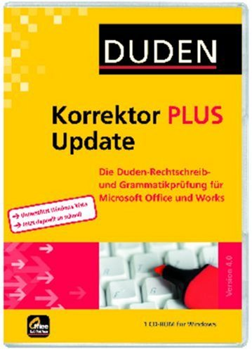 Duden Korrektor PLUS Update