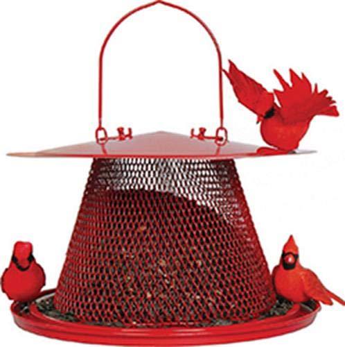 Perky-Pet Red Cardinal Bird Feeder