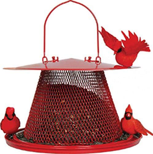 No/No Red Cardinal Bird Feeder C00322 product image