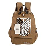 Seamand Attack on Titan Scout Regiment Shingeki No Kyojin Anime Cosplay Backpack Schoolbag