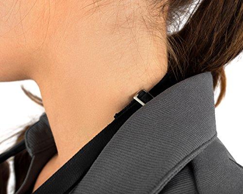 KNG Pack Of 2 - Black Adjustable Bib Apron - 3 Pocket by KNG (Image #4)