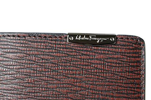 Ferragamo Men's Wallet Burgundy Burgundy 100 Bifold Ferragamo Leather Men's Salvatore Salvatore Textured Textured Bifold 100 Leather qgZBRB