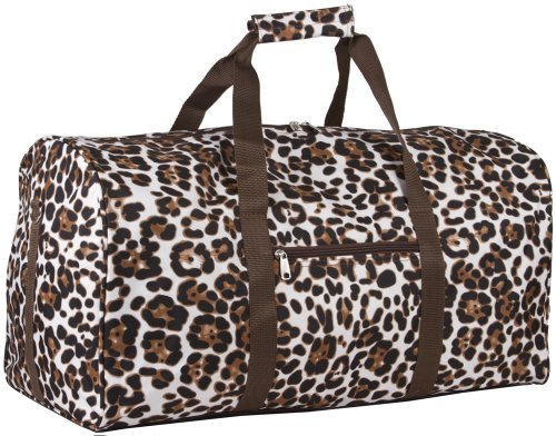 Animal Print Duffle Bag - 1
