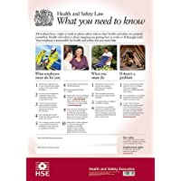 The Official Health and Safety Law Poster: What You Need to Know (Laminated A2 version) (HSE Law Poster)