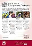 Health and Safety Law: What You Need to Know (Hse Law Poster)