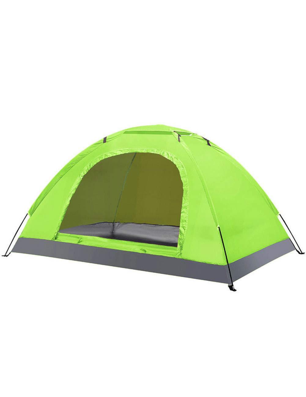 MDZH Carpa Tienda De Campaña Turística Ultraligera Tienda De Protección A Prueba De Viento A Prueba De Viento UV para 2-3 Personas Familia Camping Camping Pesca Fiesta En La Playa