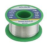 Solder Wire Lead Free Rosin Core Flux 2.5% 0.06in
