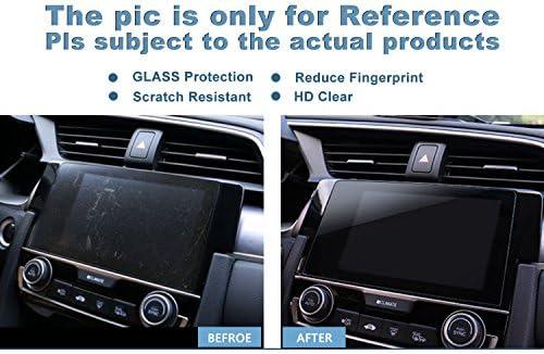 XHULIWQ スクリーンプロテクターナビゲーションとダッシュボードスクリーン9H硬度保護フィルム、プジョー3008 GT / 5008 8インチ用