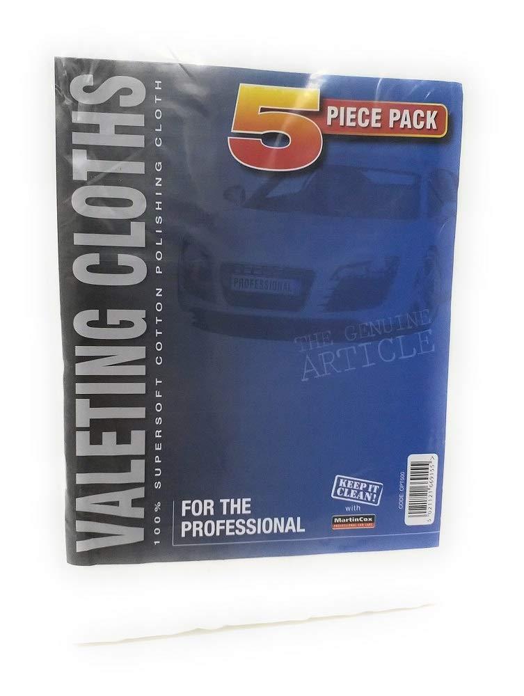 Pañ os de limpieza profesionales, 100% algodó n, 5 unidades 100% algodón MartinCox SPC125