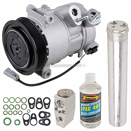 AC Compressor w/A/C Repair Kit For Dodge Caliber & Jeep Compass Patriot - BuyAutoParts 60-84151RK New ()
