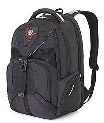 Swiss Gear SA5892 Black TSA Friendly ScanSmart Laptop Backpack - Fits Most 15 Inch Laptops and Tablets by group III