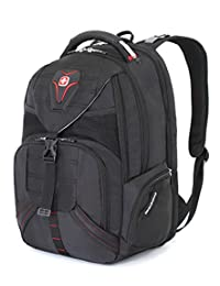 SwissGear SA5892 Black TSA Friendly ScanSmart Computer Backpack - Fits Most 18 Inch Laptops and Tablets