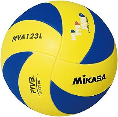 MIKASA under13, balón Volley Unisex bebé, Blue Amarillo ...