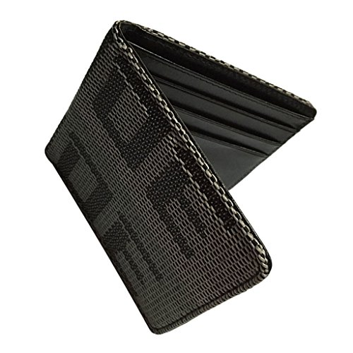 (Jili Online BRIDE WALLET for Drift Race Track Car Racing Boys Mens Gift Grey)