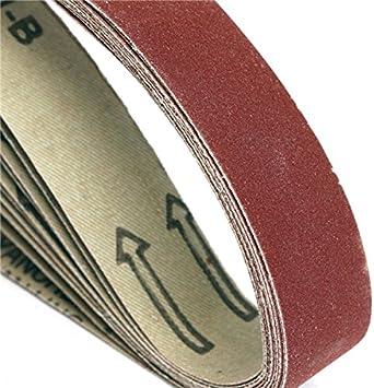 1000 Chenxi Shop 10/pi/èces 760/x 40/mm Alumina abrasifs Bandes abrasives grain 40