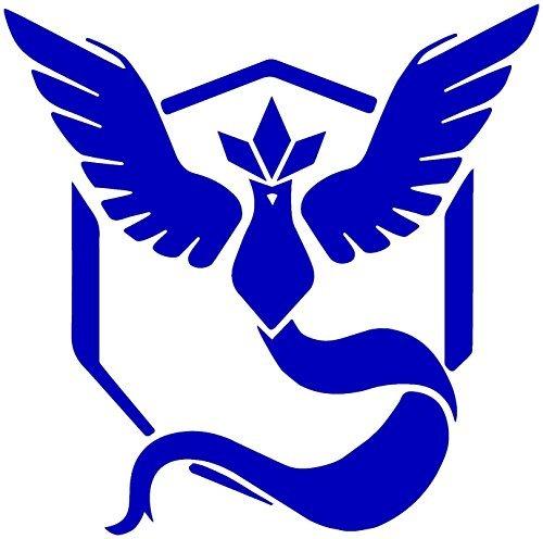 Pokemon Go -- Team (Blue, 4.5 inches) (Decals Team Window)