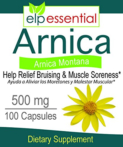 Arnica Montana 500mg 100 Capsules by ELP ESSENTIAL