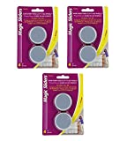 Magic Sliders 04050 Self-Adhesive Discs 2 inch-4 Count (Pack of 3)