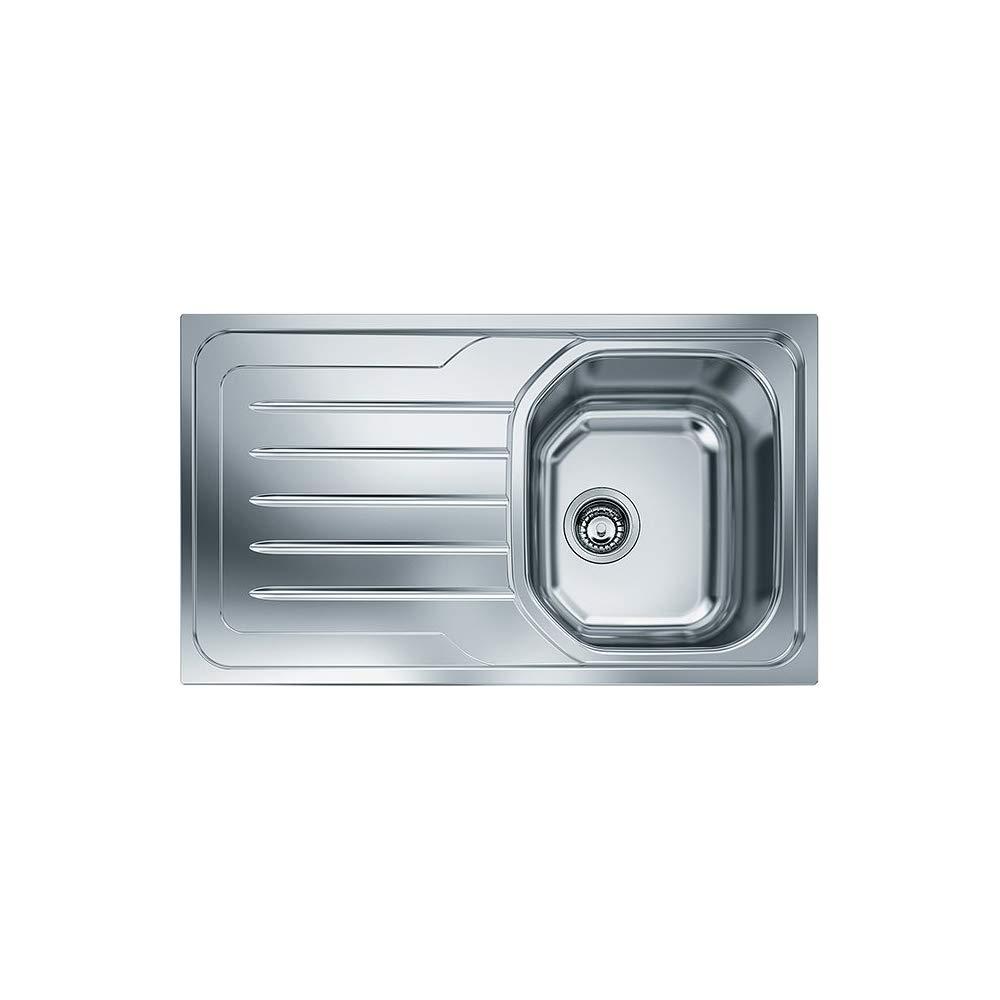 Lavabo sobre-encimera, Rectangular, Blanco, 1 senos, Rectangular, 450 x 410 mm Franke SID 611-L Lavabo sobre-encimera Rectangular Fregadero