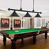 3 Light Pool Table Light, Hanging Pool Table Lamp