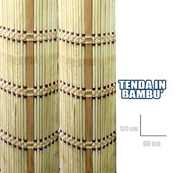 90x120 Bambus Vorhang Fur Fenster Und Turen Amazon De Elektronik
