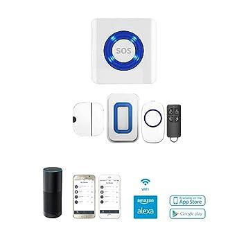 Lwd Smart Home Wifi app-activé sistema de alarma de ...