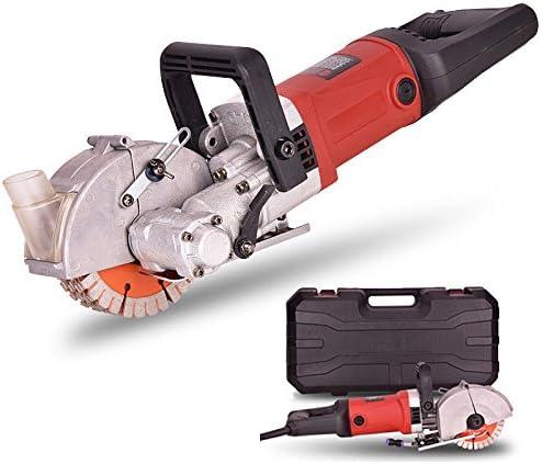 Wall groove cutting machine