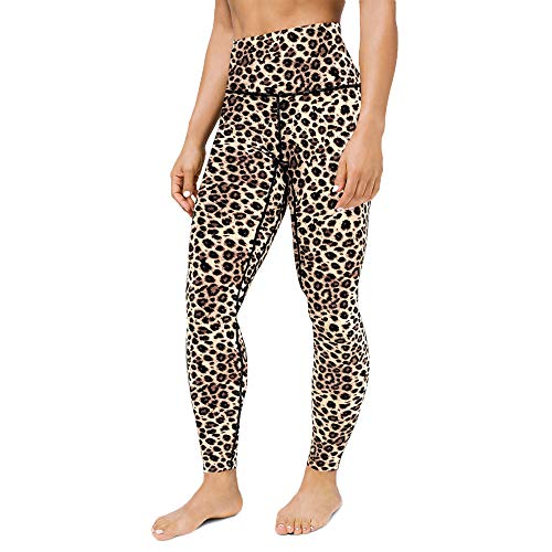 WodoWei Women's High Waisted Printed Leggings Full-Length Workout Yoga Pants