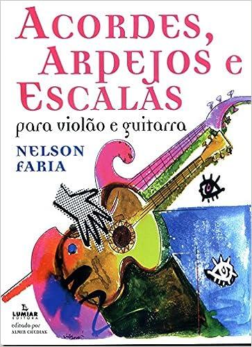 Acordes, Arpejos e Escalas. Para Violão e Guitarra: Amazon.es ...
