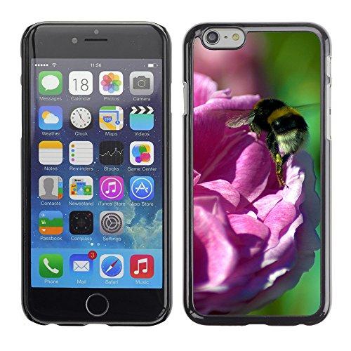 "Premio Sottile Slim Cassa Custodia Case Cover Shell // V00002940 abeille sur une rose rose // Apple iPhone 6 6S 6G PLUS 5.5"""