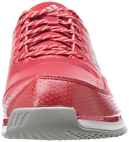 Adidas Mens Freak X Carbon Mid Cross Trainer Rosso Potere, Argento Met., Ftwr Bianco