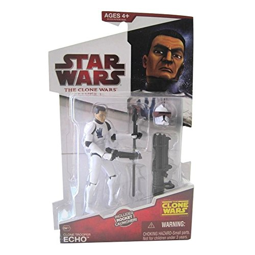 Star Wars Clone Wars Animated Action Figure Clone Trooper (Star Wars Clone Wars Characters)