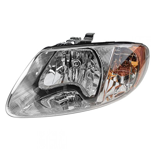 Headlight Headlamp Driver Side Left LH for Dodge Grand Caravan Chrysler (Grand Am Headlight Lh Driver)