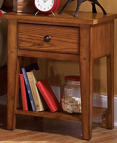Liberty Furniture INDUSTRIES 175-BR60 Grandpa's Cabin Night Stand, 22