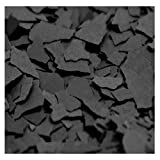 1/4'' Chipflakes Epoxy Paint Chips (50lb, Black)