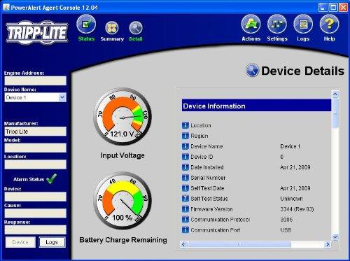 037332124999 - Tripp Lite 1000VA Smart UPS Back Up, 500W Tower, LCD, AVR, USB, Tel & Coax Protection (SMART1000LCD) carousel main 4