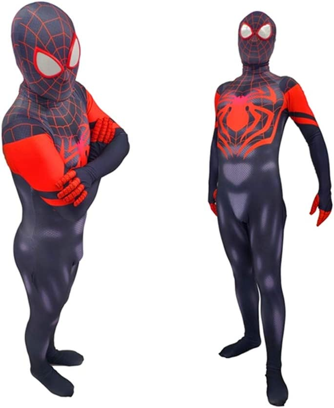 Muswanna87 Fashion Miles Morales Into Spider Verse Cosplay Costume ...