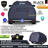 TPH Black-Z Heavy Navy Blue Duty Custom fit Water Proof Car Cover with Premium Piping for Toyota Landcruiser Prado