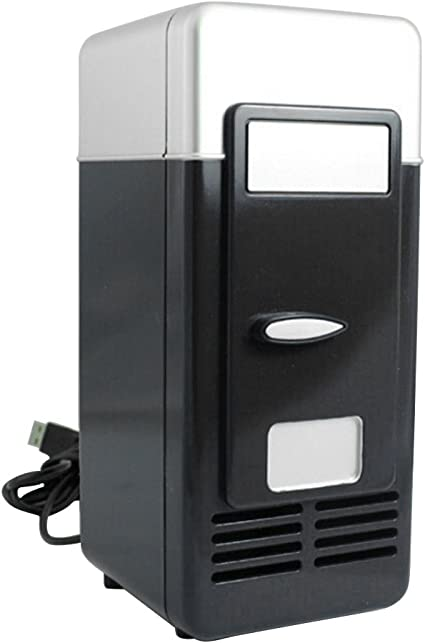 Lifesongs 169/5000 Mini Refrigerador 5 V Puertos USB Nevera USB ...