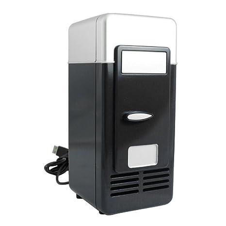 Mini de frigorífico nevera portátil en el coche adecuado, 5 V USB ...