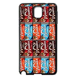 [AinsleyRomo Phone Case] For Samsung Galaxy NOTE3 Case Cover -Wonka Bar Chocolate Pattern-Style 11