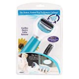 Electric Callus Remover, Battery-Powered Foot File Pedicure Tools for Your Feet and Nails (Blue)