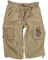 Air Combat 3/4Jeans/pantalons Prélavage, kaki