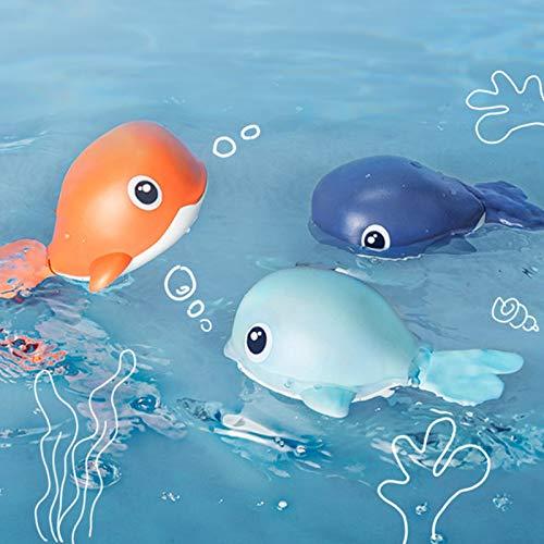 BabyBathToyswithWindUp WhaleDesignforInfants,Toddlers,BabyBoysandGirls, 3 in 1
