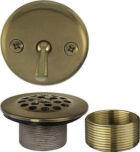 1-1/2 inch x 1-3/8 inch Trip Lever Bath Waste Trim (Tub Drain and ()