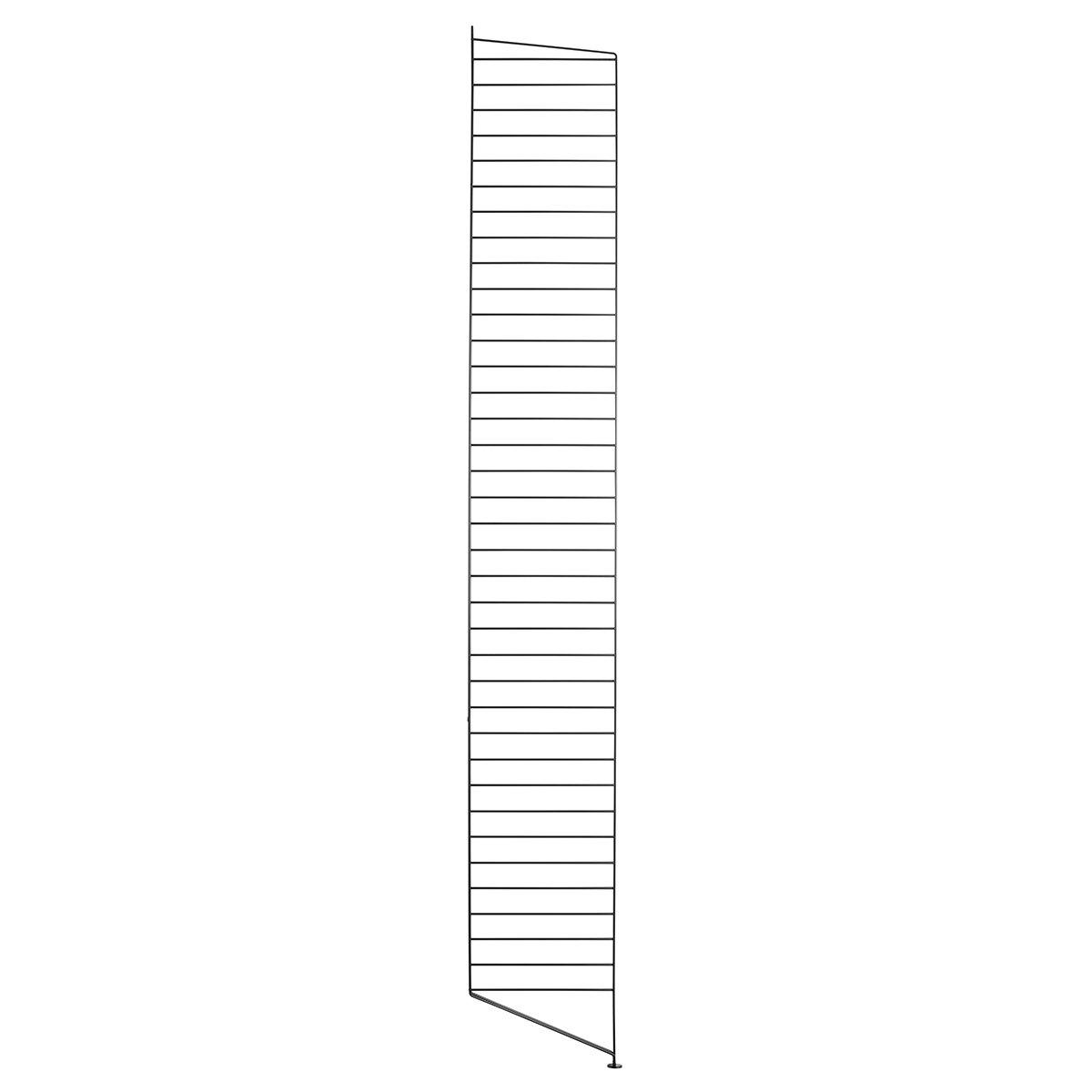 String Bodenleiter 200 schwarz 200 Bodenleiter x 30cm 78c939