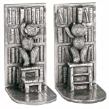 Royal Selangor 016111R Bookends-Library, One Size Pewter