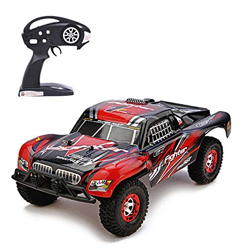 KELIWOW Electric RC Buggy 1/12 Scale Remote Control Car 2.4GHz All Terrain RC Rock Crawler Monster Truck 40KM/h High Speed Off-Road Best RC Racer for Kids and - Rc Truck Game