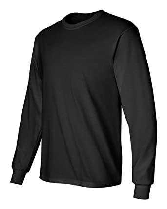 Gildan Men's G240 Ultra Cotton Long Sleeve T-Shirt at Amazon Men's ...