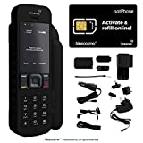 BlueCosmo Inmarsat IsatPhone 2 Satellite Phone Kit (SIM Included) - Global Coverage - Voice, SMS, GPS Tracking, Emergency SOS - Prepaid and Monthly Service Plan Options